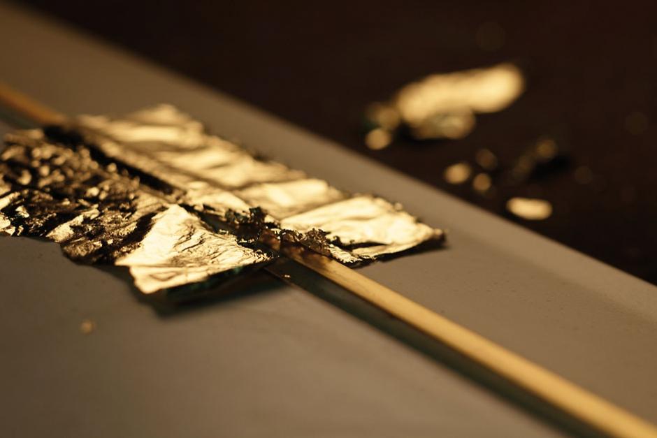 La foglia oro