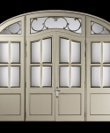 Inner door glass custom