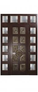 Входная дверь для частной виллы