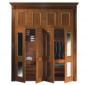 Custom wardrobe in SigeGold style