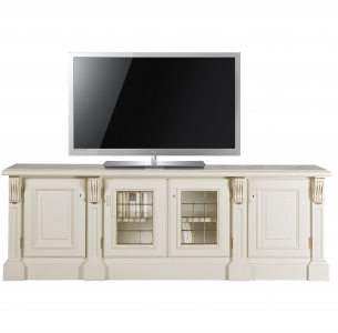 Lacquered TV stand