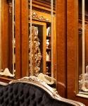 Boiserie Classica con decori glitter