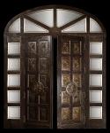 Porta d'ingresso per villa privata